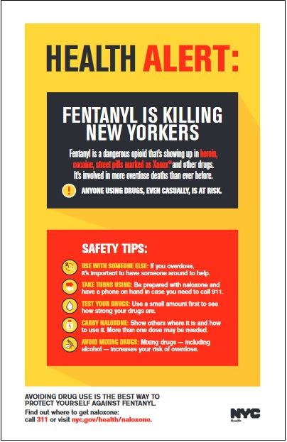 Fentanyl poster