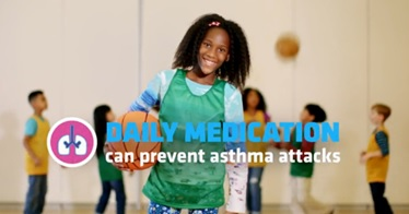 asthma daily medication