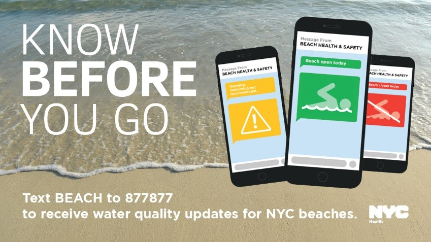 Know Before You Go Beach Water Quality Alerts