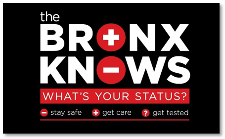 The Bronx Knows HIV  testing initiative