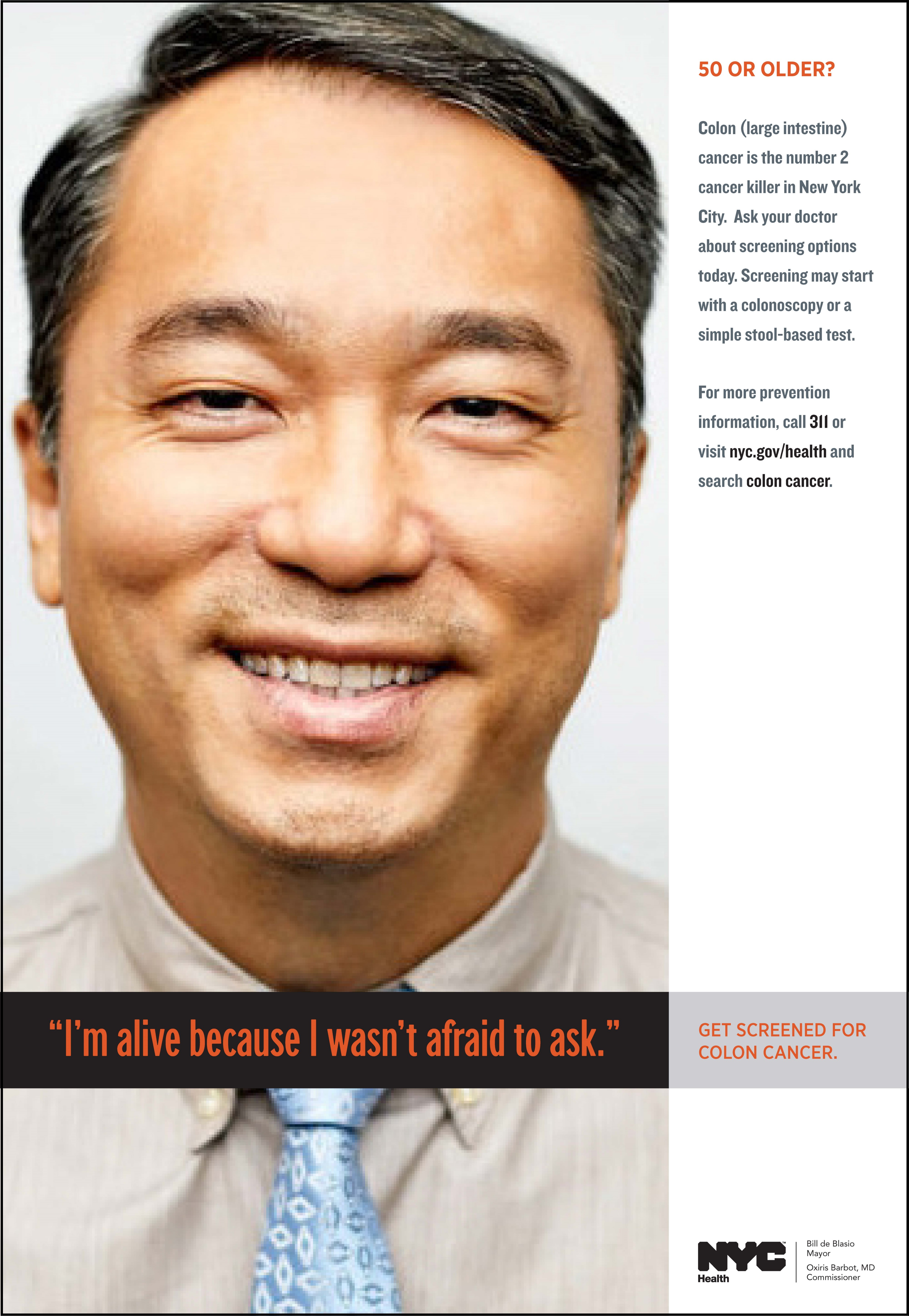 Asian Americans Should Get Screened For Colon Cancer