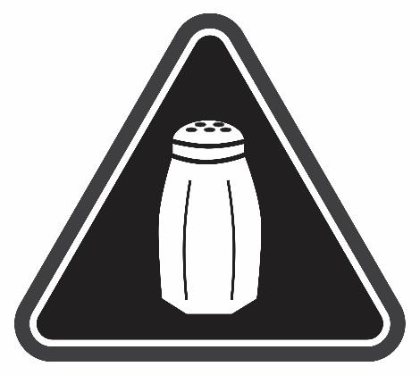 sodium warning icon