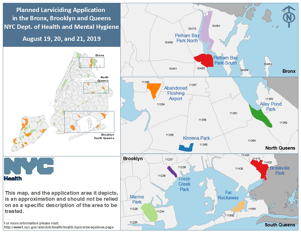 Mosquito Control Events - NYC Health