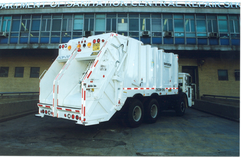 Dual-Bin Collection Truck