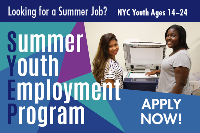 services employment youth program