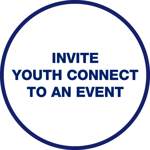 Invite Youth Connect to an Event logo