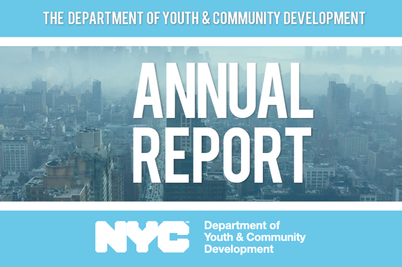 DYCD 2018 Annual Report cover page