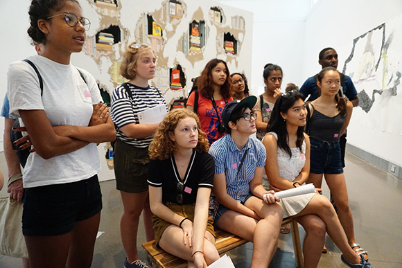 Teens at the Queens Museum