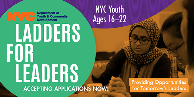 nyc ladders for leaders essay The nyc ladders for leaders program, a part of the summer youth employment this is the end of the preview sign up to access the rest of the document.