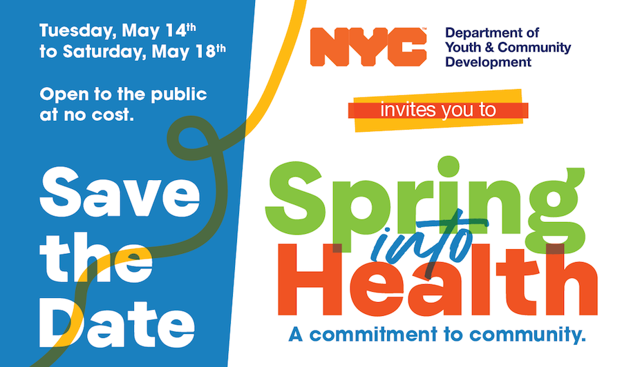 Save the Date - Spring into Health.