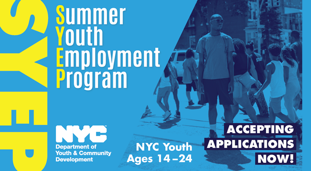 Applications are open for the 2017 Summer Youth Employment Program