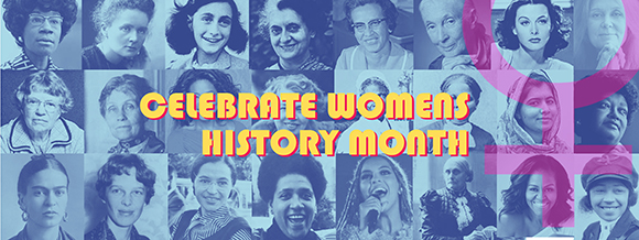 Women's History Month Banner