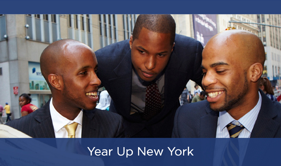 Year Up New York Header