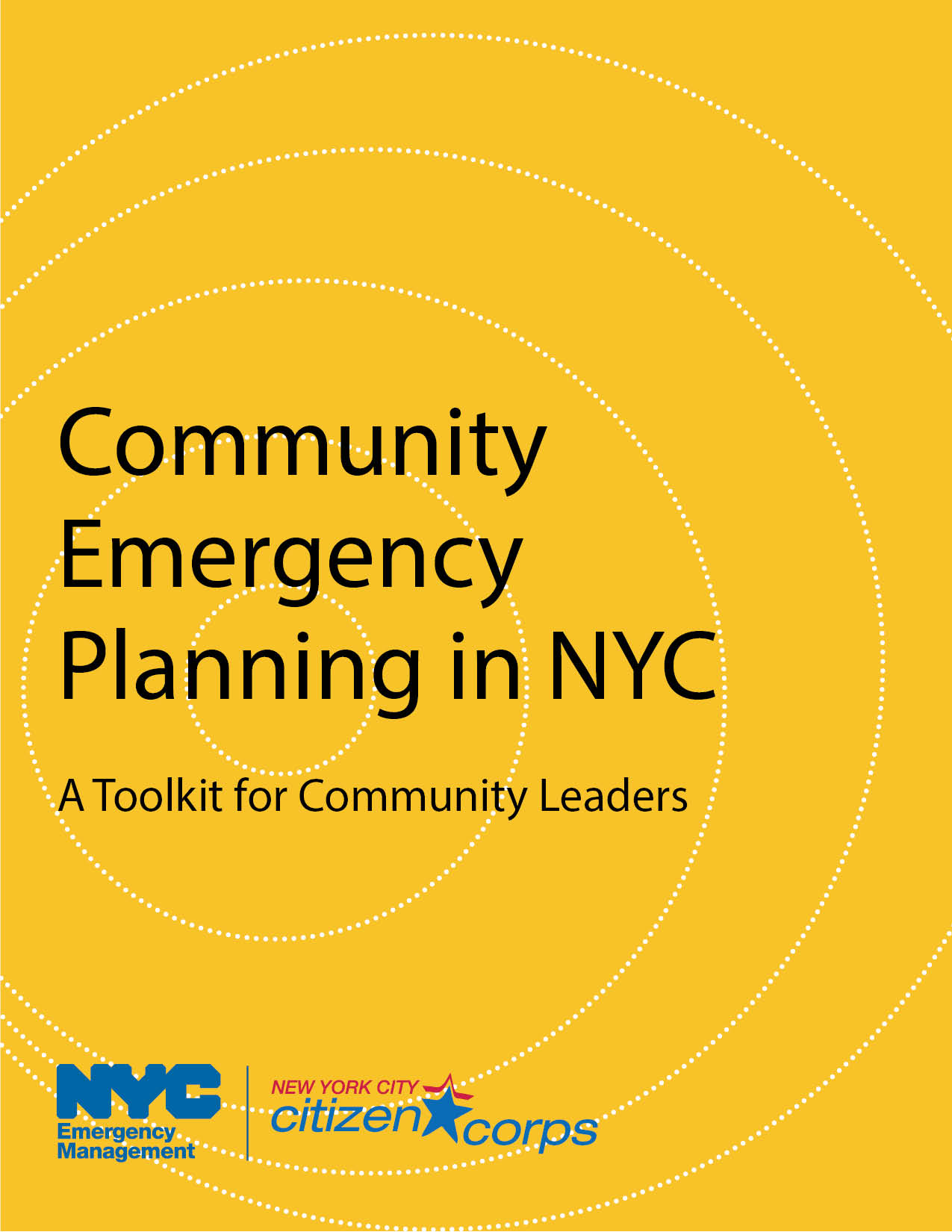 cover of the Community Emergency Planning Toolkit