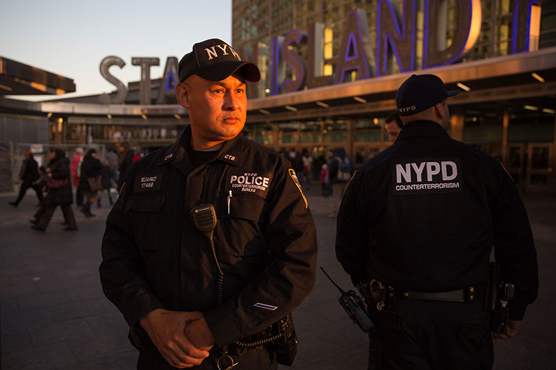 An NYPD Counterterrorism Officer
