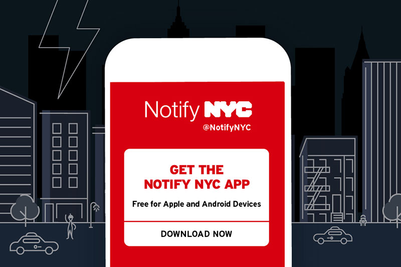 Notify NYC app