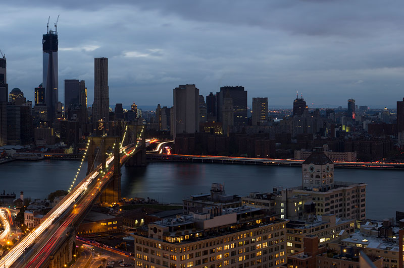 A blackout in Brooklyn and Manhattan