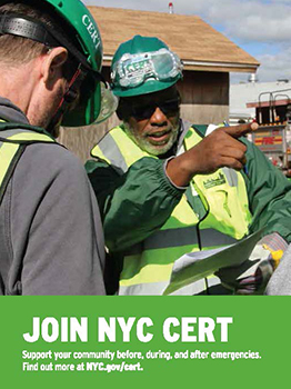 NYC CERT Postcard