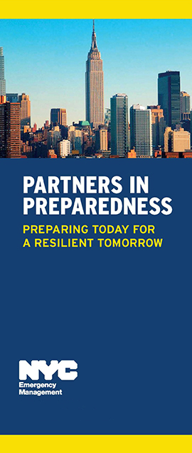 Partners in Preparedness Brochure
