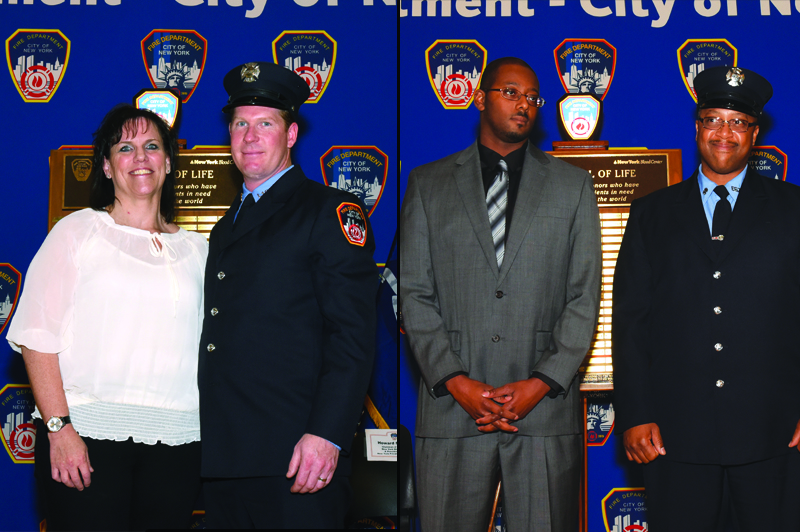 Fire Commissioner and New York Blood Center Honor FDNY Bone Marrow Donors