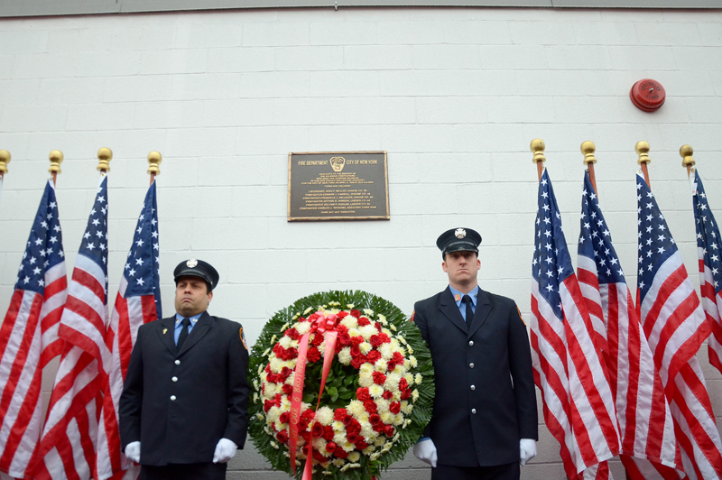 FDNY Marks 60th Anniversary of the Third Avenue Collapse in the Bronx with Plaqu