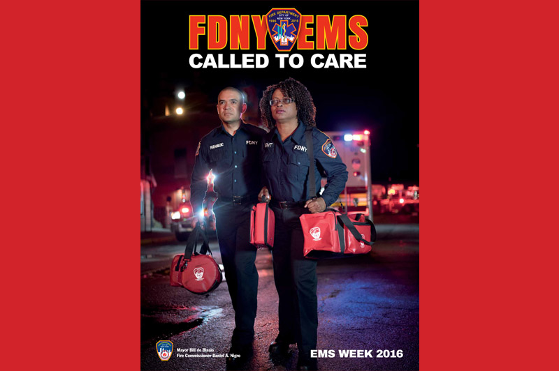 FDNY Unveils 2016 National EMS Week Poster