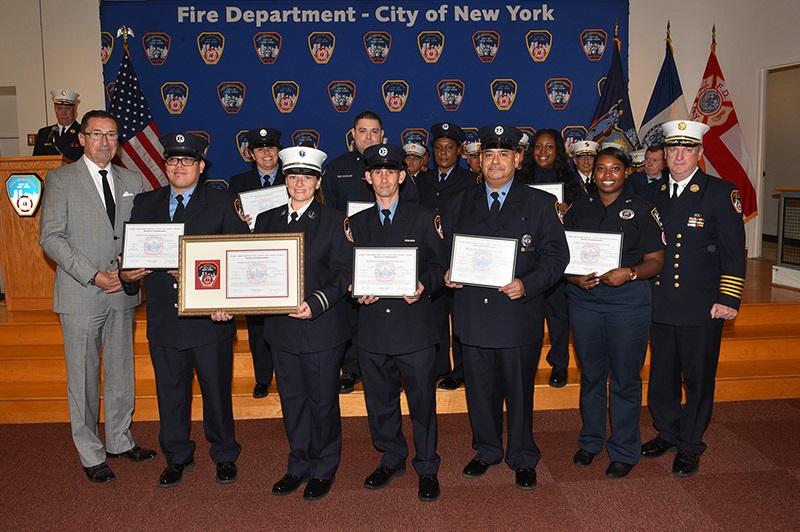 Fdny Honors Fire Alarm And Ems Dispatchers