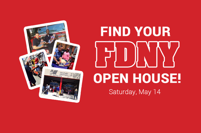 Join Us! Find Your FDNY Open House