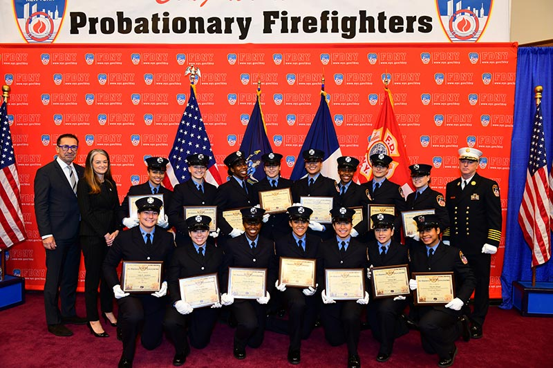 FDNY Graduation Ceremony