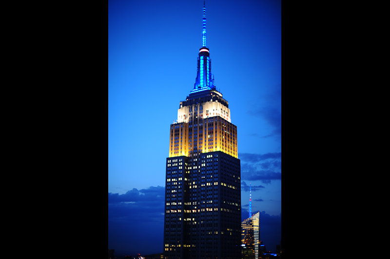Empire State Building Lights Tower To Celebrate Ems Week 2020 City Of New York