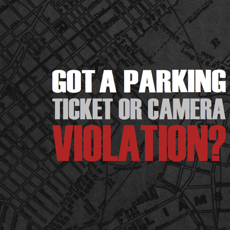 Got a Ticket or Camera Violation? (Brochure)