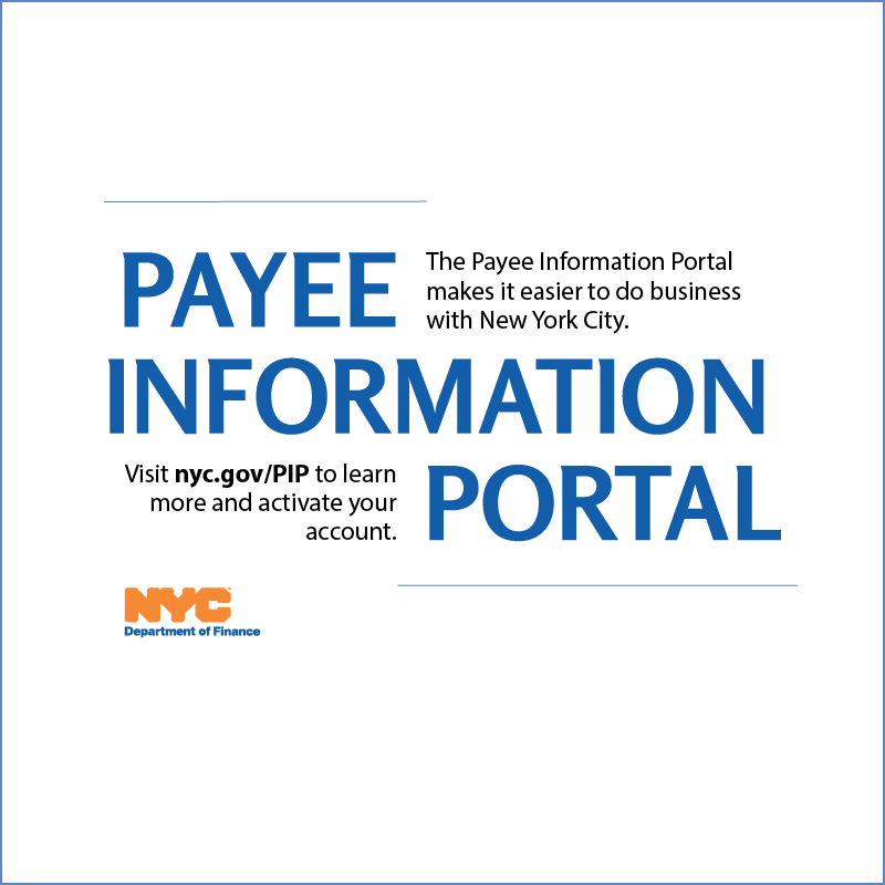 Payee Information Portal Pamphlet