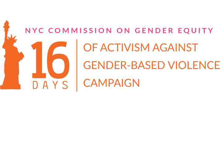 Mark your Calendar! 16 Days of Activism Against Gender-Based Violence