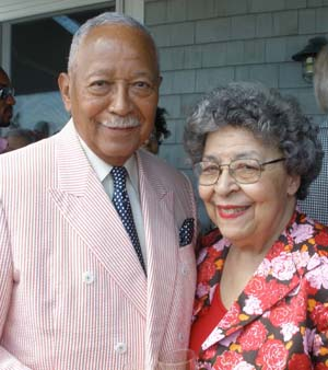 David Dinkins and his wife Joyce