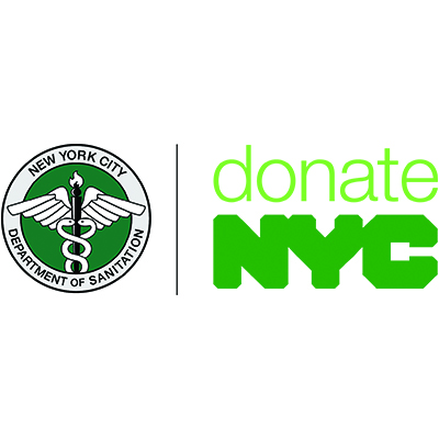 NYC Department of Sanitation's donateNYC logo