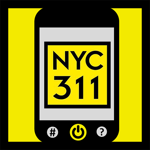 NYC 311 Mobile App icon