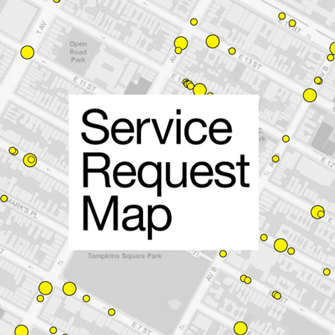 Service Request Map