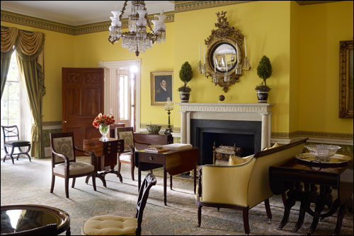 Gracie mansion for Federal style interior decorating