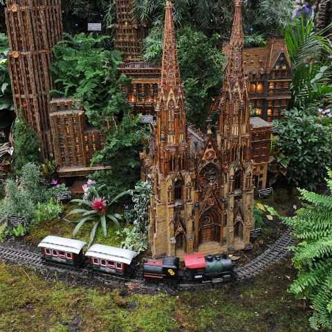 Charmant New York Botanical Garden Holiday Train Show