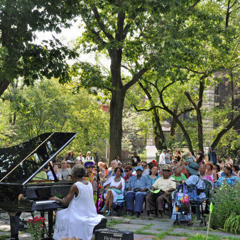 Jazz festival for 65 jumel terrace new york