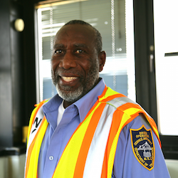 Male Department of Transportation employee