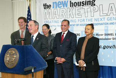 Mayor Bloomberg Details Nations Largest Municipal Housing Plan to    Mayor Bloomberg Details Nations Largest Municipal Housing Plan to Build and Preserve   Units of Affordable Housing   City of New York