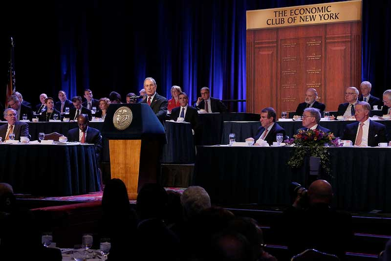 Mayor Bloomberg: the rise of cities, their future and the labor-electoral complex