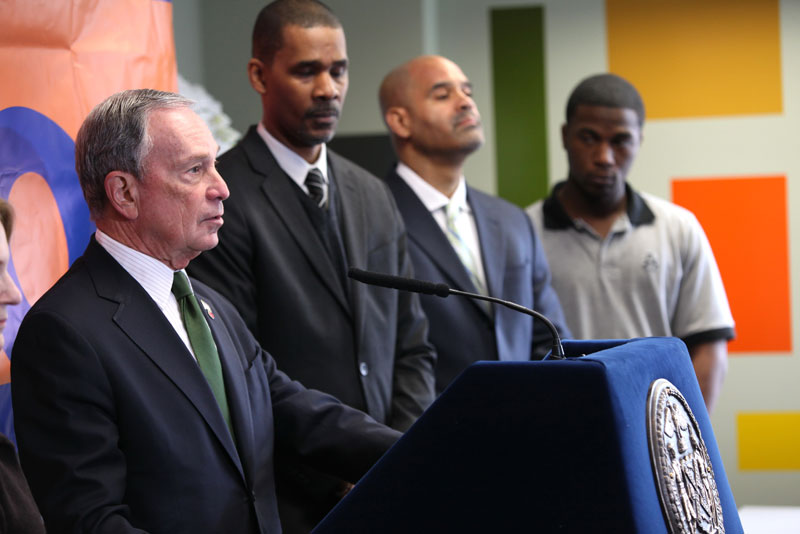 Mayor Bloomberg announces NYC's incarceration rate hits new all-time low