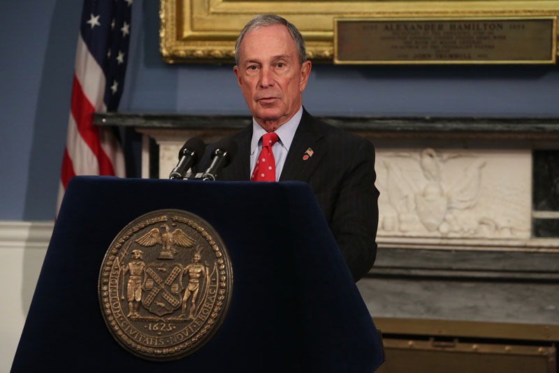 Mayor Bloomberg announces budget for fiscal year 2015 – which begins July 1, 2014 – already balanced