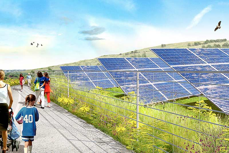 City's largest solar energy installation to be built at Freshkills Park in Staten Island