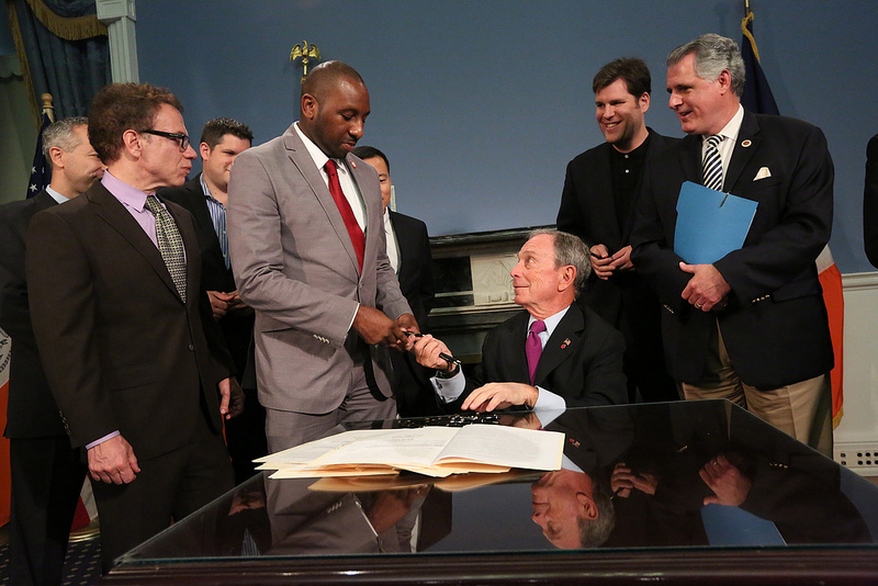 Mayor Bloomberg signs legislation to strengthen building standards and enhance their resiliency