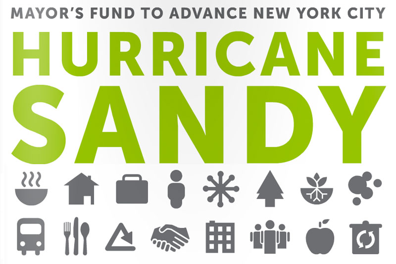 Mayor's Fund for New York City release one-year update on Hurriane Sandy recovery activities