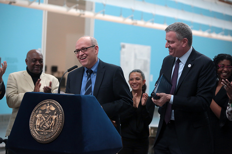 Mayor de Blasio Appoints Tom Finkelpearl as Department of Cultural Affairs Commissioner