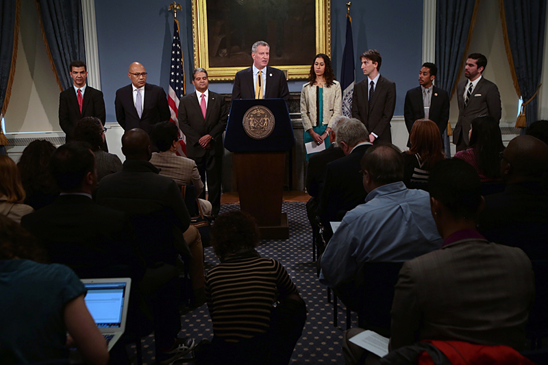 Mayor de Blasio names four key appointments to his administration